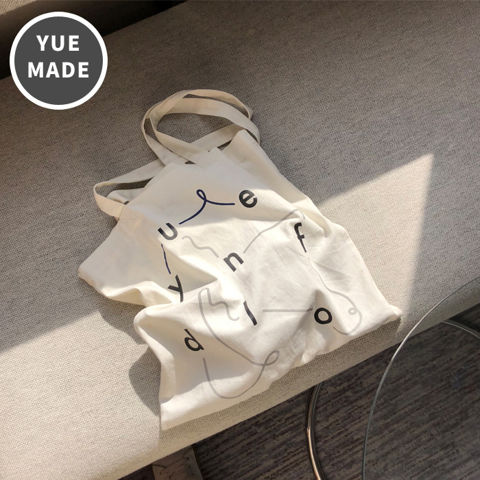 yue x unfold eco bag [ white ]